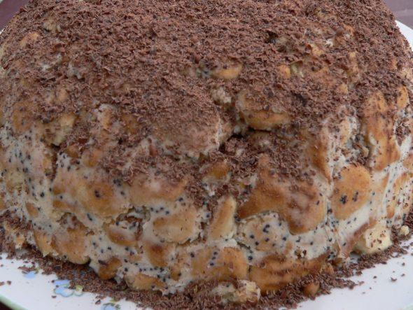 """Tortas iš krekerių """"Žuvytės"""""""