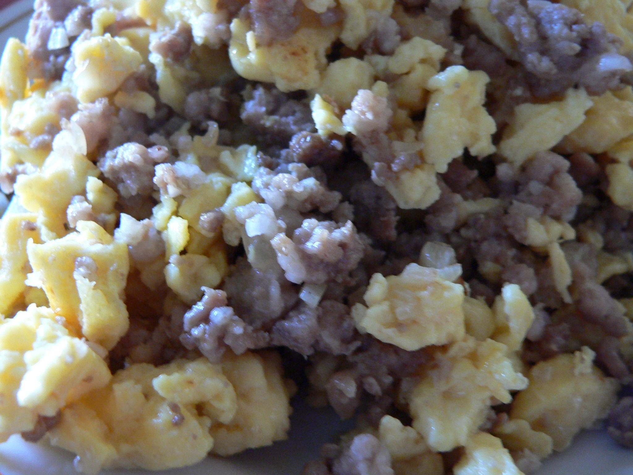 Korėjietiška kiaušinienė su faršu