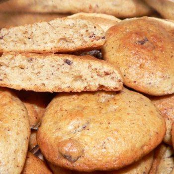 Moliūgų sausainiai su šokolado gabaliukais