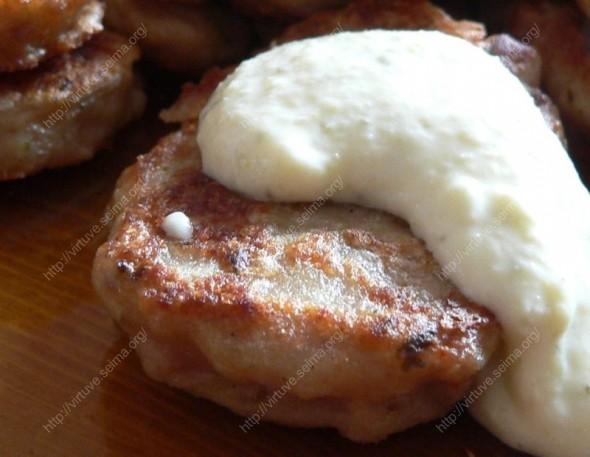 Maltos mėsos blyneliai