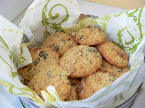 Avižiniai sausainiai su moliūgų sėklomis