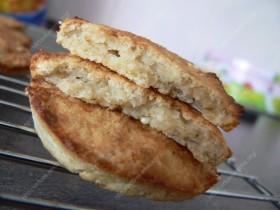 Varškės ir avižinių dribsnių sausainiai