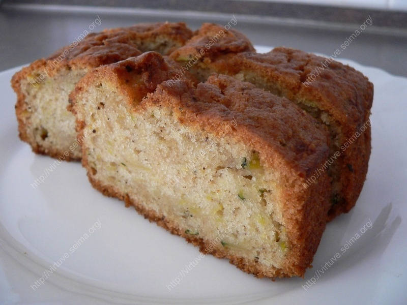 Cake with zucchini