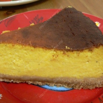 Sūrio pyragas su moliūgu