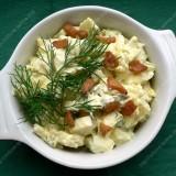 Bulvių salotos su grietine