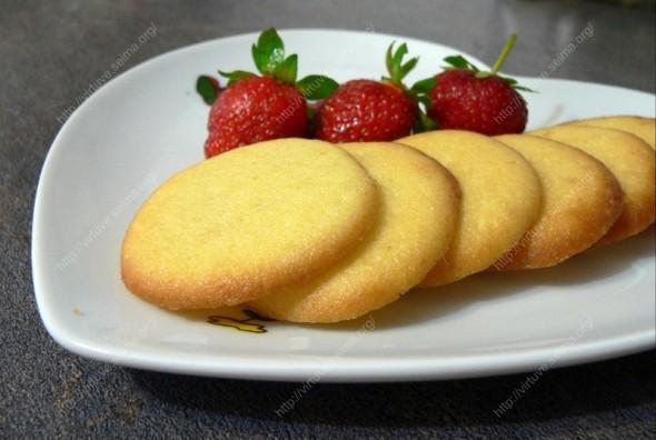 Kreminės varškės sausainiai
