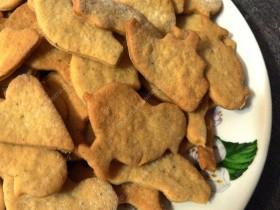 Moliūginiai forminiai sausainiai