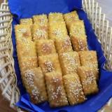 Sausainiai su varškės sūriu