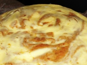 Marmurinis moliūgų pyragas su kremine varške
