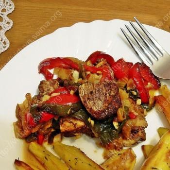 Vištiena su cinamonu ir paprika