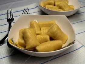 Varškės-bulvių tinginiai