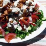Keptos vištienos salotos
