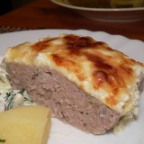 Faršo ir sūrio apkepas