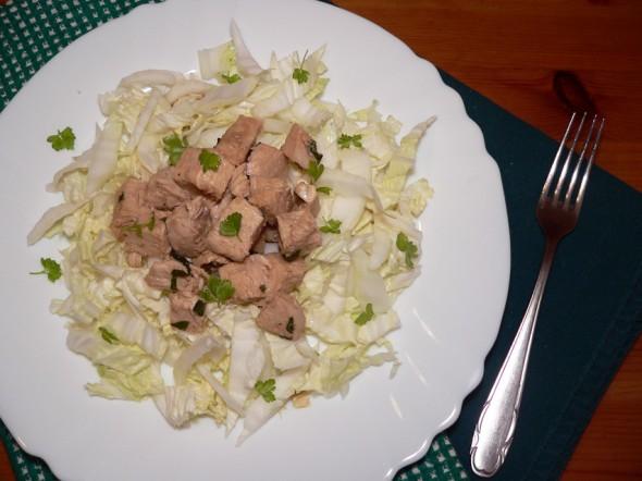Kiniškos vištienos salotos