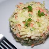 Traškios kopūstų salotos