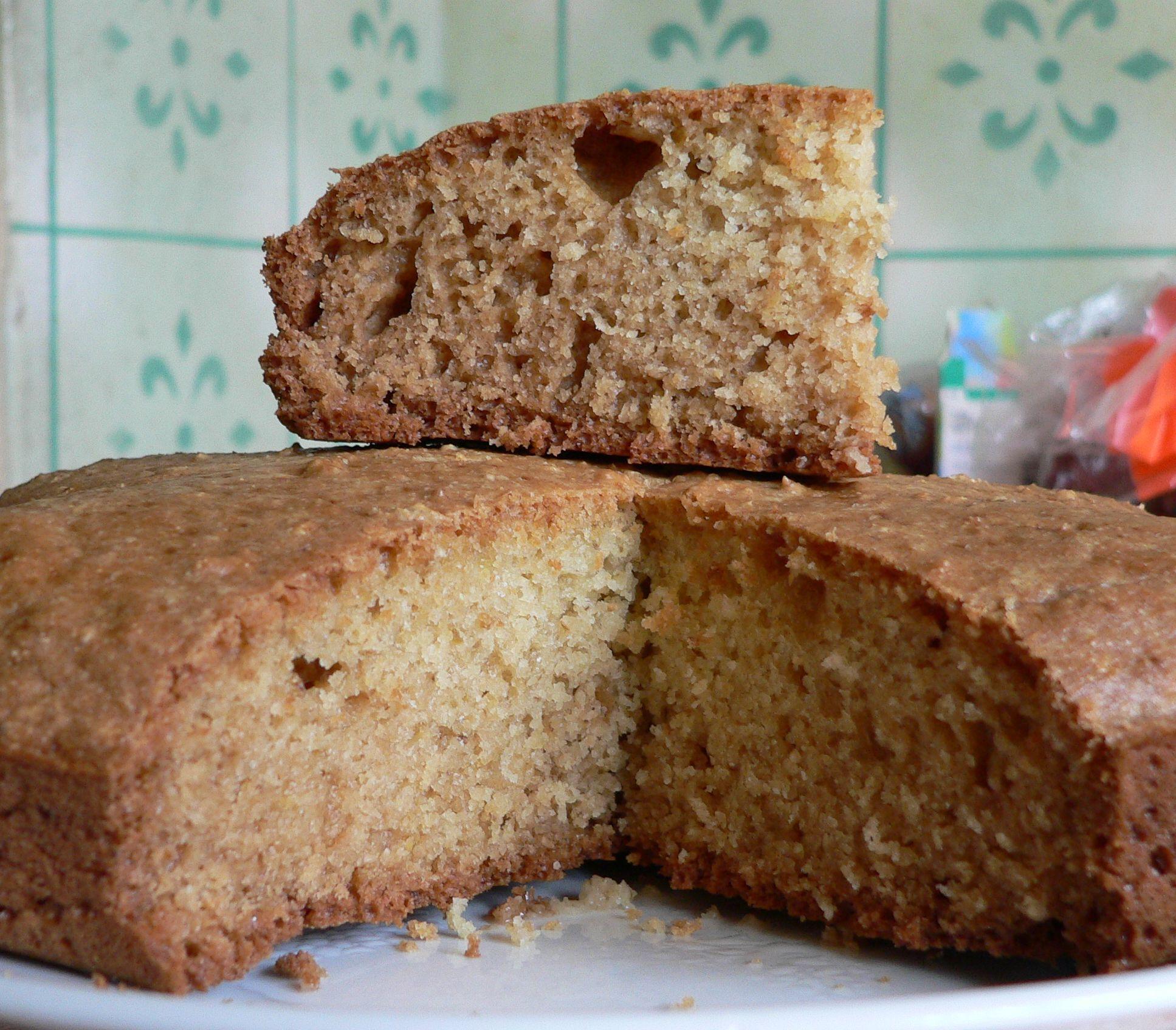 Simple oatmeal cake