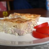 Cabbage and minced meat bake