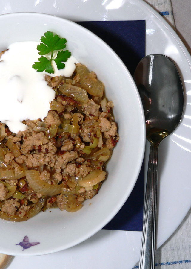 how to cook minced meat stew