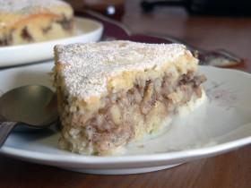 Skinny apple coffee-cake
