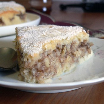 Skinny apple coffee-cake