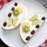 Cake Lemon Butterfly