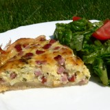 Alsace cheese pie