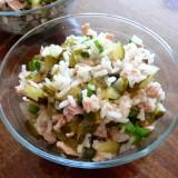Rice salads with tuna