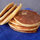 Polenta pancakes