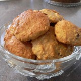 Apple butter cookies with rasins