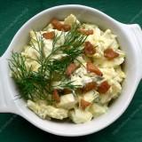 Potato salads with sour cream