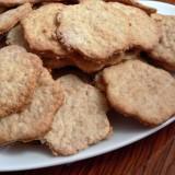 Norvegian oat crackers