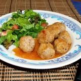 Meatballs in spicy sauce
