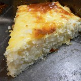 Rice bake with curd
