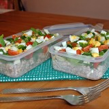 Buckwheat salads for lunch