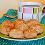 Cottage cheese and rye flour balls, or cookies?