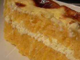 Corn bake with curd