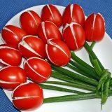 Pomidoriukų Tulpės