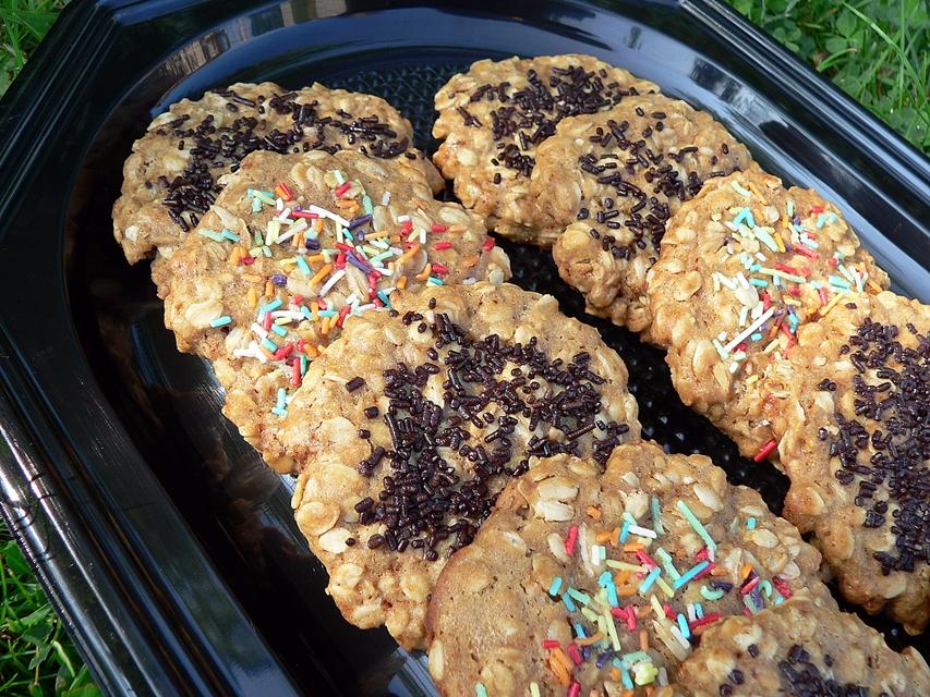 Avižiniai sausainiai su pabarstukais