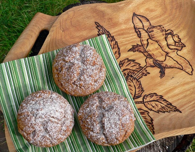 Saldžiųjų bulvių (batatų) keksiukai