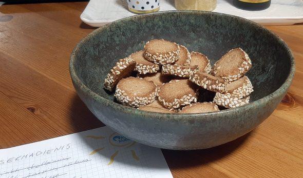 Grikių miltų sviestiniai sausainiai